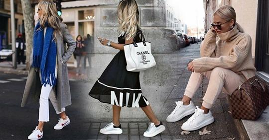9 вещей, с которыми можно носить кроссовки и весной, и летом
