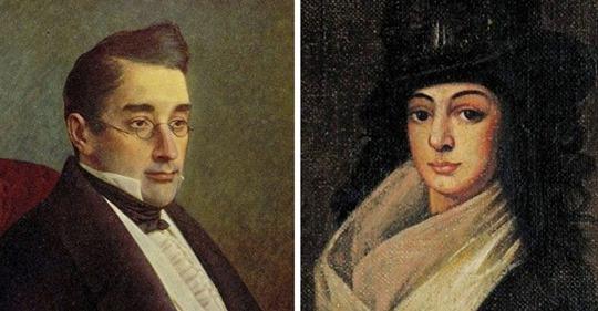 История «Черной розы»: овдовев в 16 лет, жена Грибоедова держала траур всю жизнь