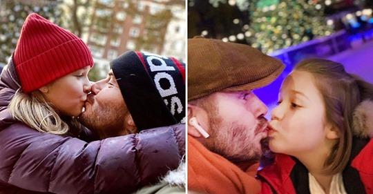Нормально ли это, когда папа целует дочь в губы