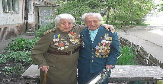 Супруги Саламатины — Евгений Федорович и Наталья Ефимовна. Они дошли до Берлина…. Пусть ваше внимание и уважение дойдёт и до их сердец!