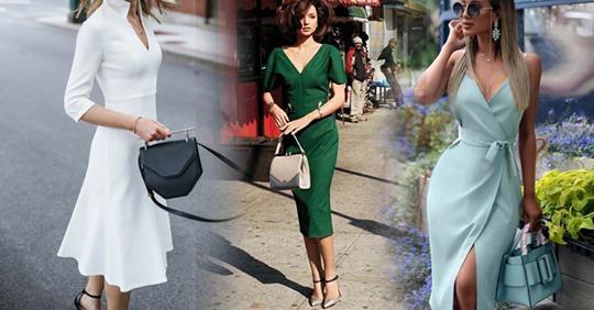 Вне моды и времени: 6 фасонов платьев, которые всегда шикарны и смотрятся дорого
