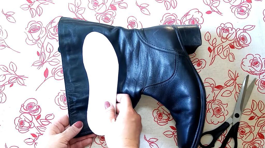 Не спешите выбрасывать старые сапожки: они будут греть ваши ножки, но уже в новой паре обуви