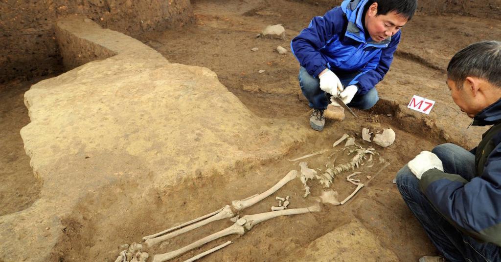 Китайские археологи раскопали более 80 бронзовых зеркал для  проводов в загробный мир  возрастом более 2000 лет