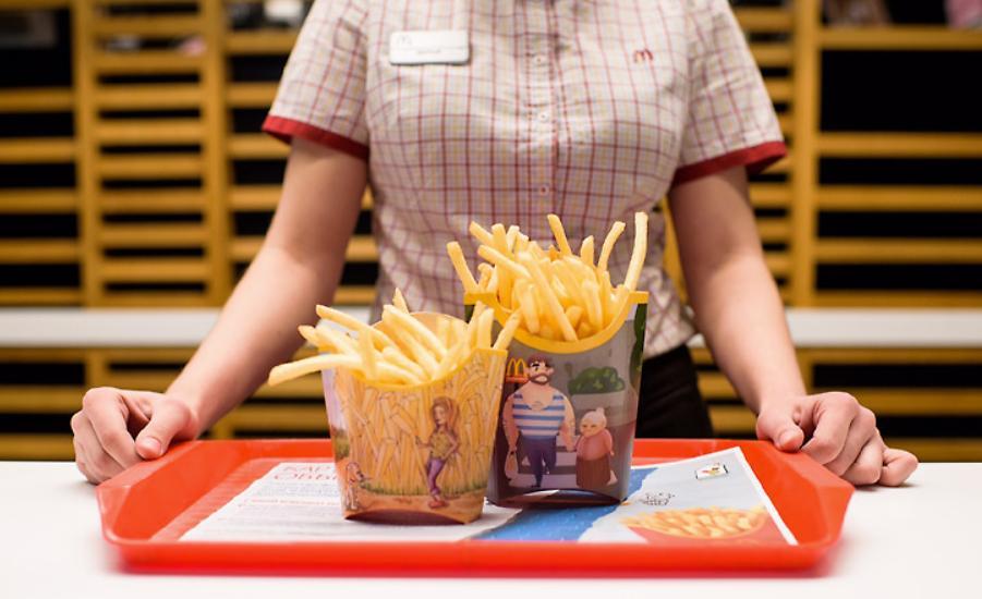 Как донести до дома картошку фри из «Макдоналдса» свежей: лайфхак