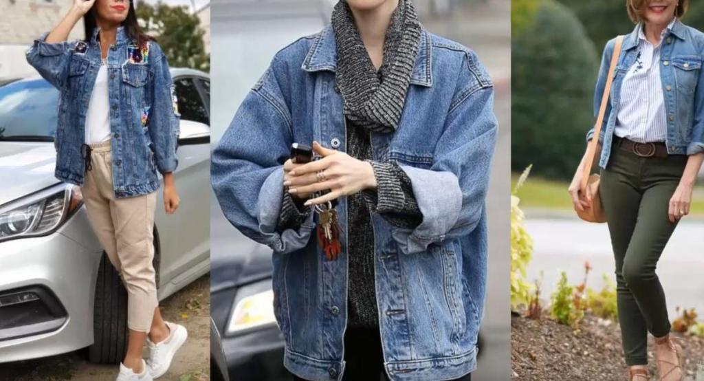 Незаменимая вещь: как стилизовать джинсовую куртку под свой гардероб женщинам за 35 (модные модели и советы)