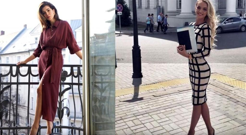В офисном стиле, но с налетом женственности: как носить деловые платья весны и лета (модные модели и советы)