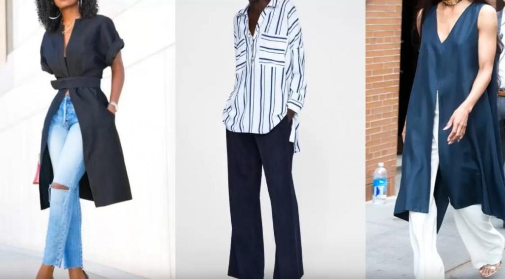 С брюками и юбками: актуальные туники весны и как их носить
