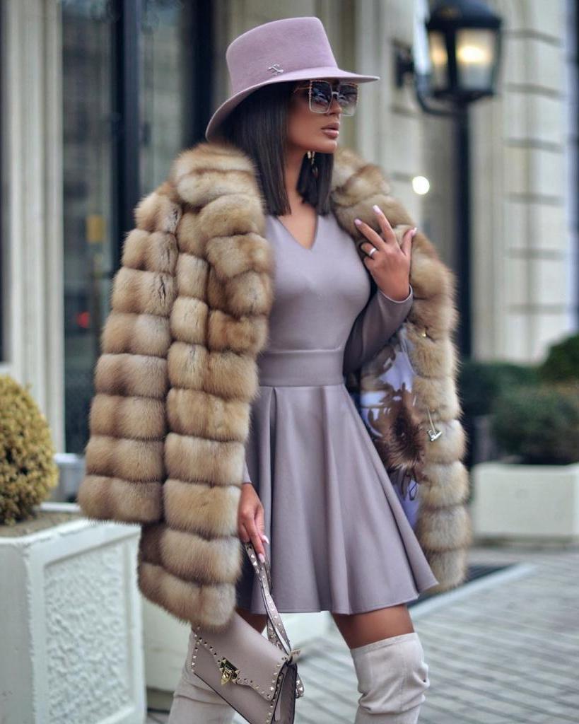 С чем носить ботфорты: модные сочетания 2021 года