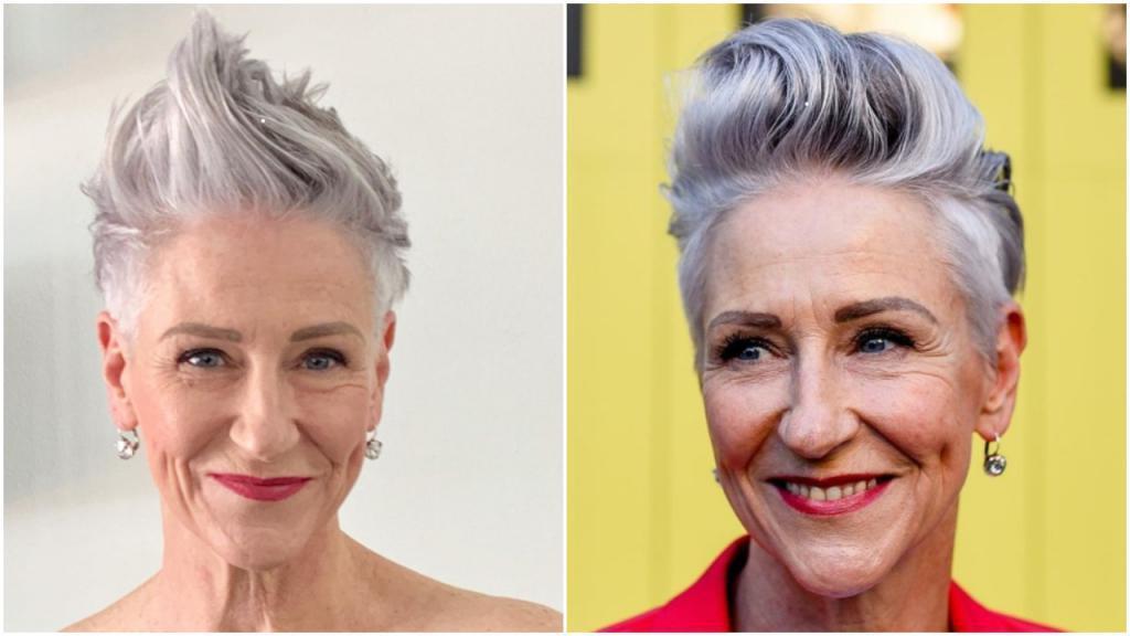 Женственные весенние вариации для коротких волос, практичные в любом возрасте