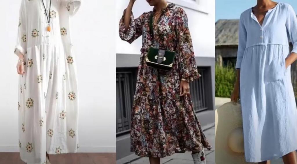 Платья балахоны   безусловный хит этой весны: популярные модели сезона и советы, как их носить женщинам зрелого возраста