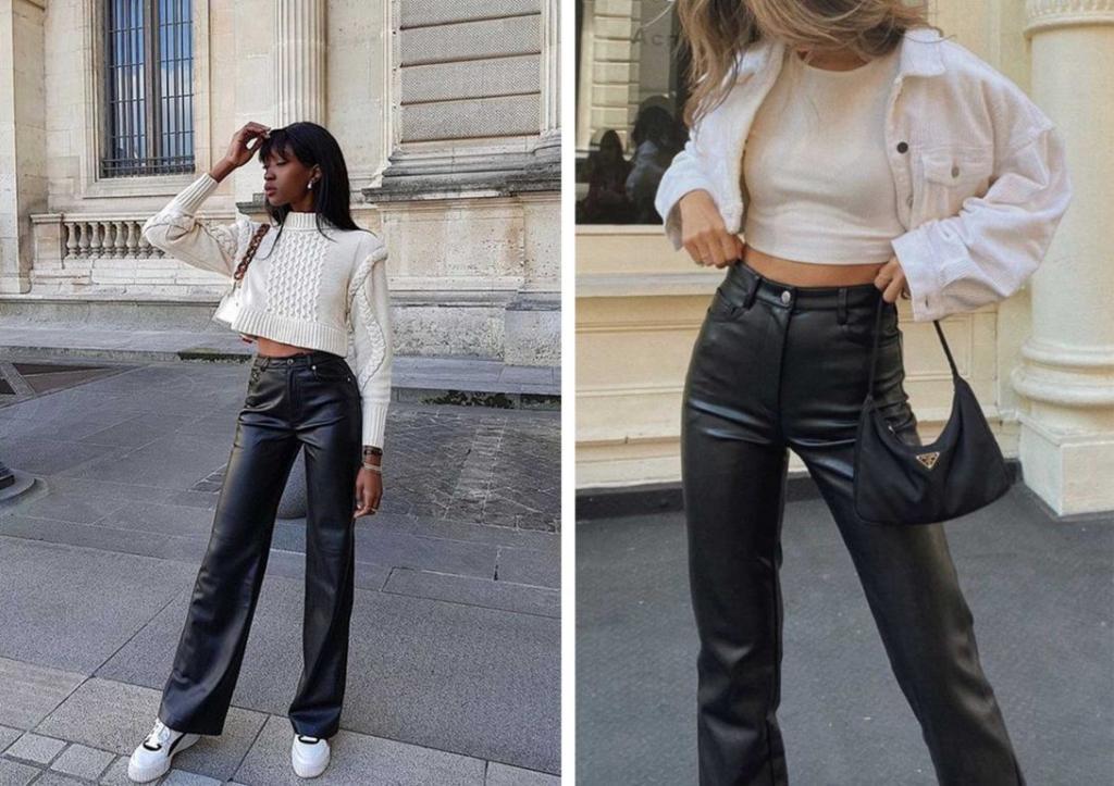 Кожаные вещи сохранили свою популярность еще с 90-х: примеры трендовых образов, которые можно носить сегодня