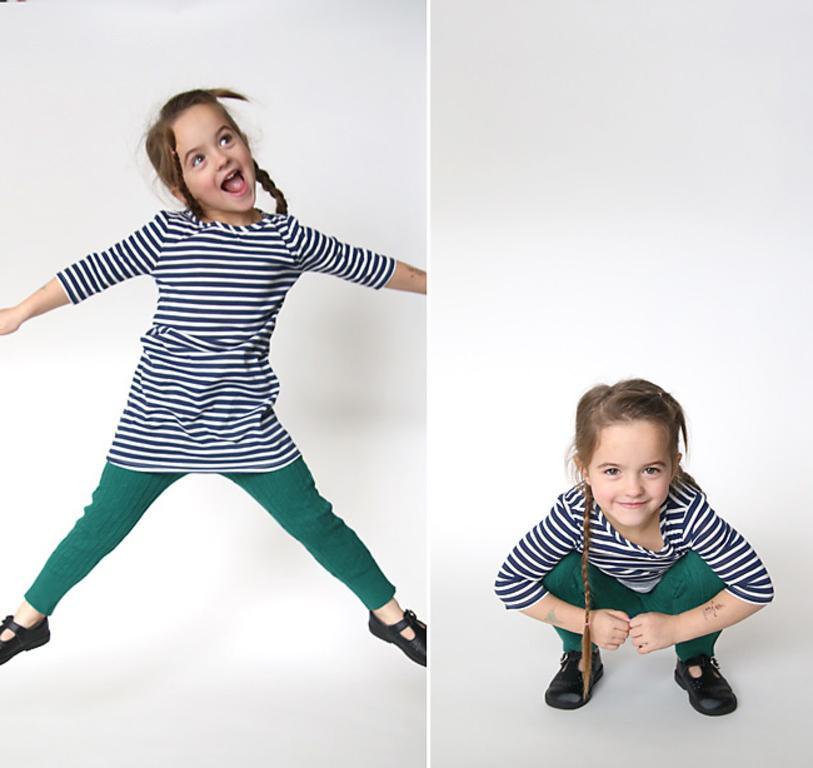 Как из старого свитера сделать удобные детские легинсы. Очень простой и практичный способ