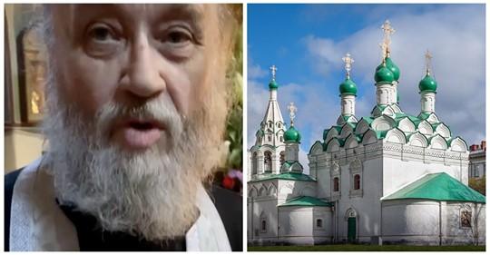 Священник в московском храме ударил прихожанина за фотографию иконостаса