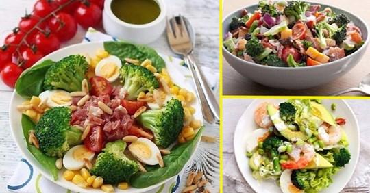 8 лучших салатов из брокколи