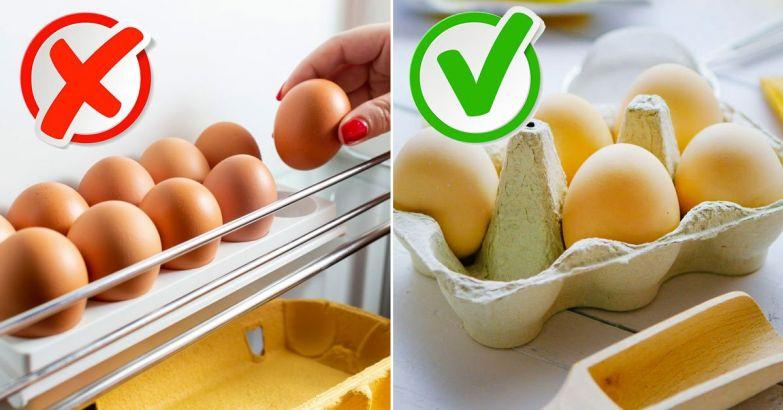 Почему не стоит хранить яйца в холодильнике