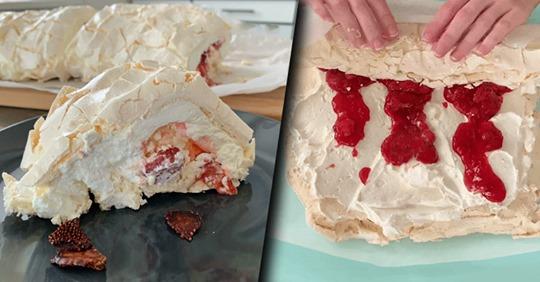 Меренговый рулет от шеф-повара: изумительный десерт своими руками