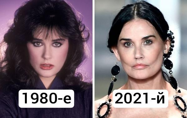 17 фото звёзд в стиле «тогда и сейчас», показывающих, как время отразилось на их лицах