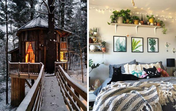 19 уютнейших квартир и домиков, которые являются воплощением слова «комфорт»