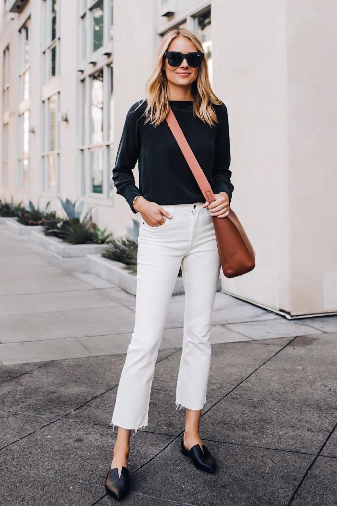 Все внимание на туфли и блузку: как носить брюки капри, чтобы не портить фигуру