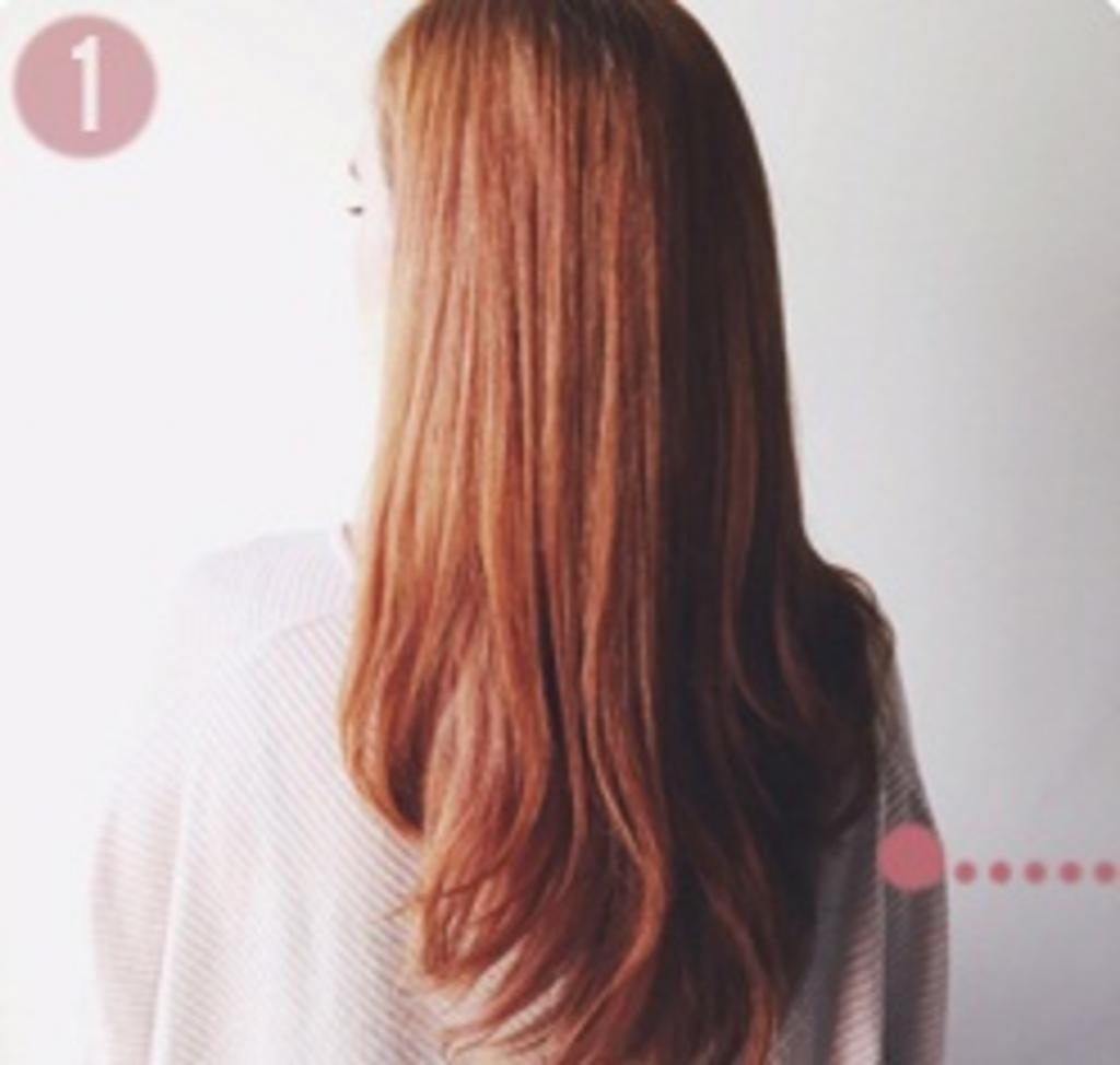 Как собрать длинные волосы в высокую прическу с косами. Очень красиво смотрится и требуется минимум времени