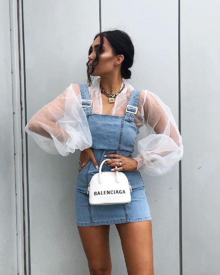 Джинсовые платья и сарафаны — горячий тренд этого лета: подбираем модные фасоны