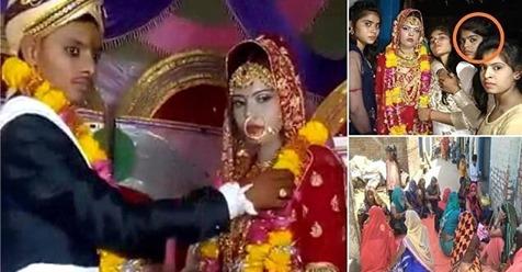 В Индии на свадьбе умерла невеста, но ее тут же заменили сестрой