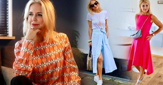 Стильные образы от немецкого стилиста и модели 56-летней Биби Хорст: как одеваться, если тебе за 50?