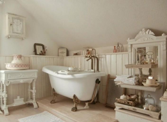Суть в деталях: как оформить ванную комнату с винтажной эстетикой