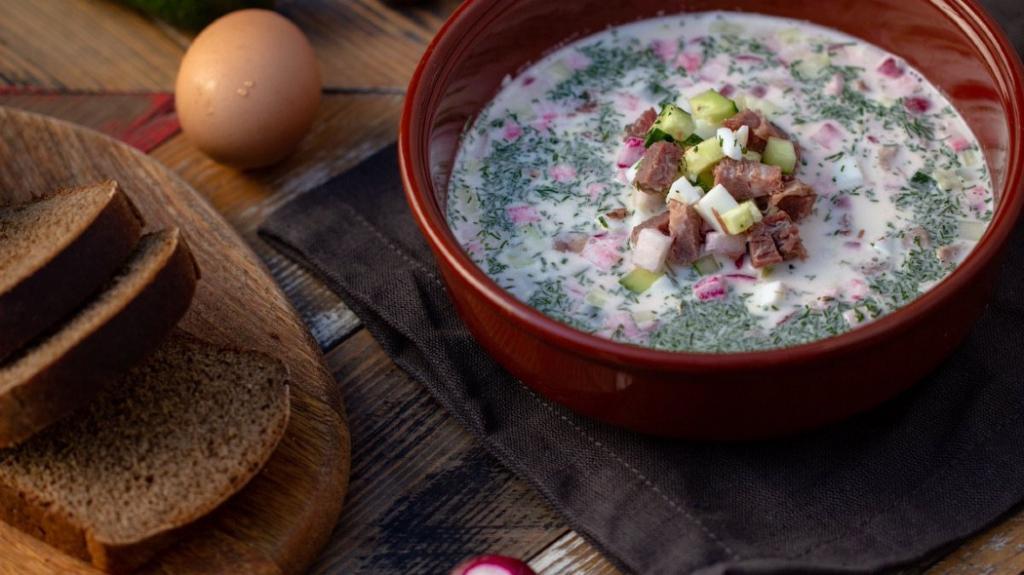 Лучшее блюдо на столе в тридцатиградусную жару   суп
