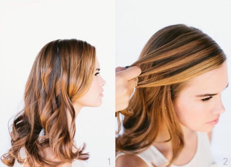 Как быстро собрать волосы в красивую прическу «водопад». Это просто, а смотрится эффектно и нежно