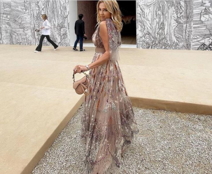 Dior показал в Париже коллекцию осень-зима-2021-22, а Яна Рудковская - сказочное платье