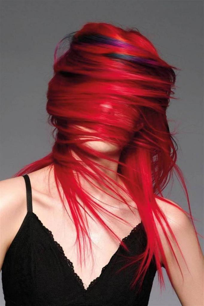 Креативный цвет волос   тренд лета: хитрости модного окрашивания и особенности домашнего ухода