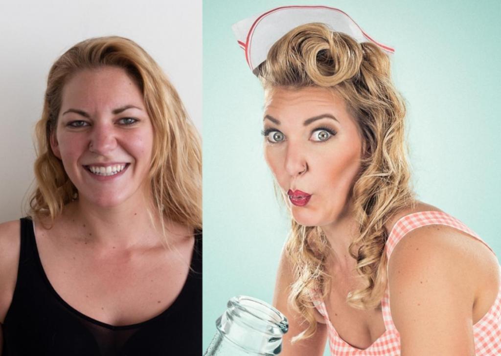 Обычные женщины примерили на себя образ девушки с открытки (пин-ап): фото до и после еще никогда так сильно не отличались