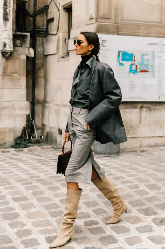 Streetstyle диктует тренд: самые модные сапоги осени, которые мы чаще всего будем видеть на улицах