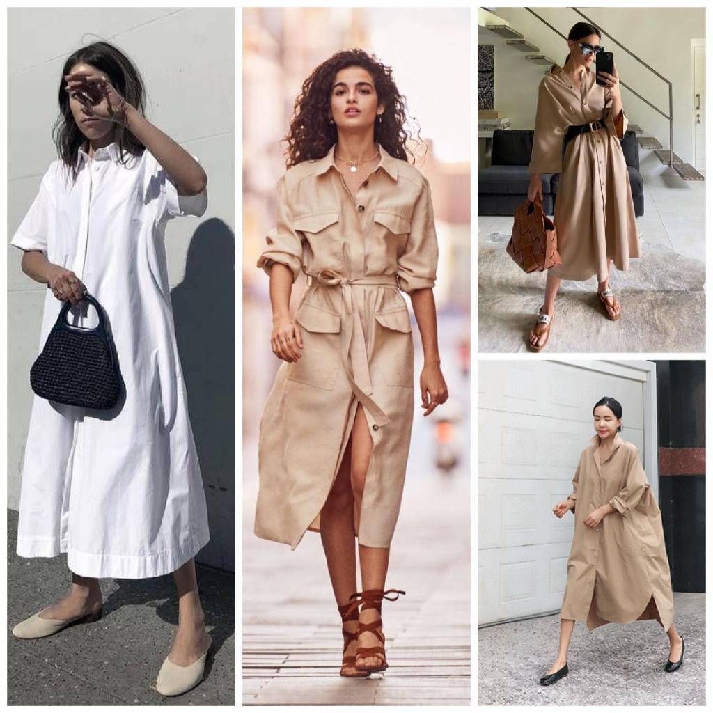 Миди, рубашка и А-силуэт: пять фасонов платьев, которые великолепно смотрятся осенью