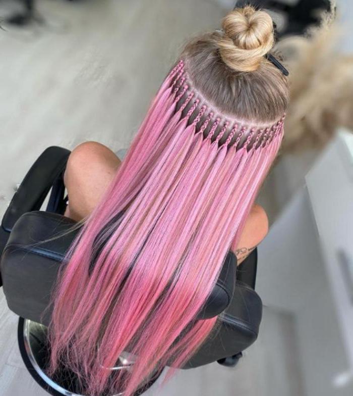 Ультразвуковая, с помощью ленты и вплетение: самые щадящие процедуры наращивания волос