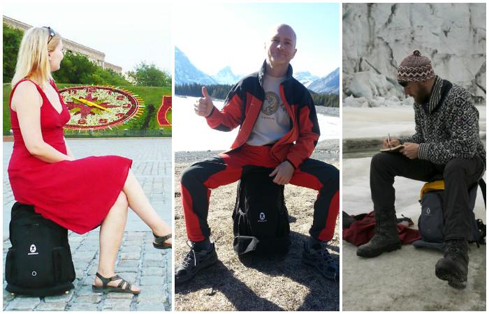 Лучше присядь: почему рюкзак стул – лучший друг туриста