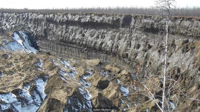 Врата в подземный мир  в Сибири быстро увеличиваются в размерах