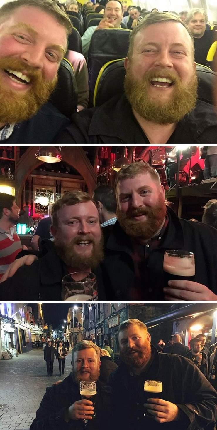19 совершенно незнакомых людей, случайно встретивших своих двойников