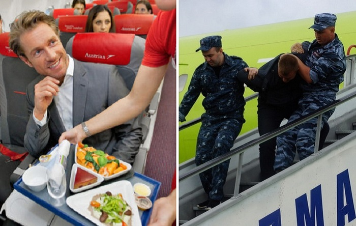 Что можно (и нельзя) прихватить из самолета «на память», чтобы потом не подхватили под руки полицейские