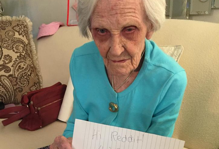 Уэтой 101 летней женщины есть несколько советов ожизни