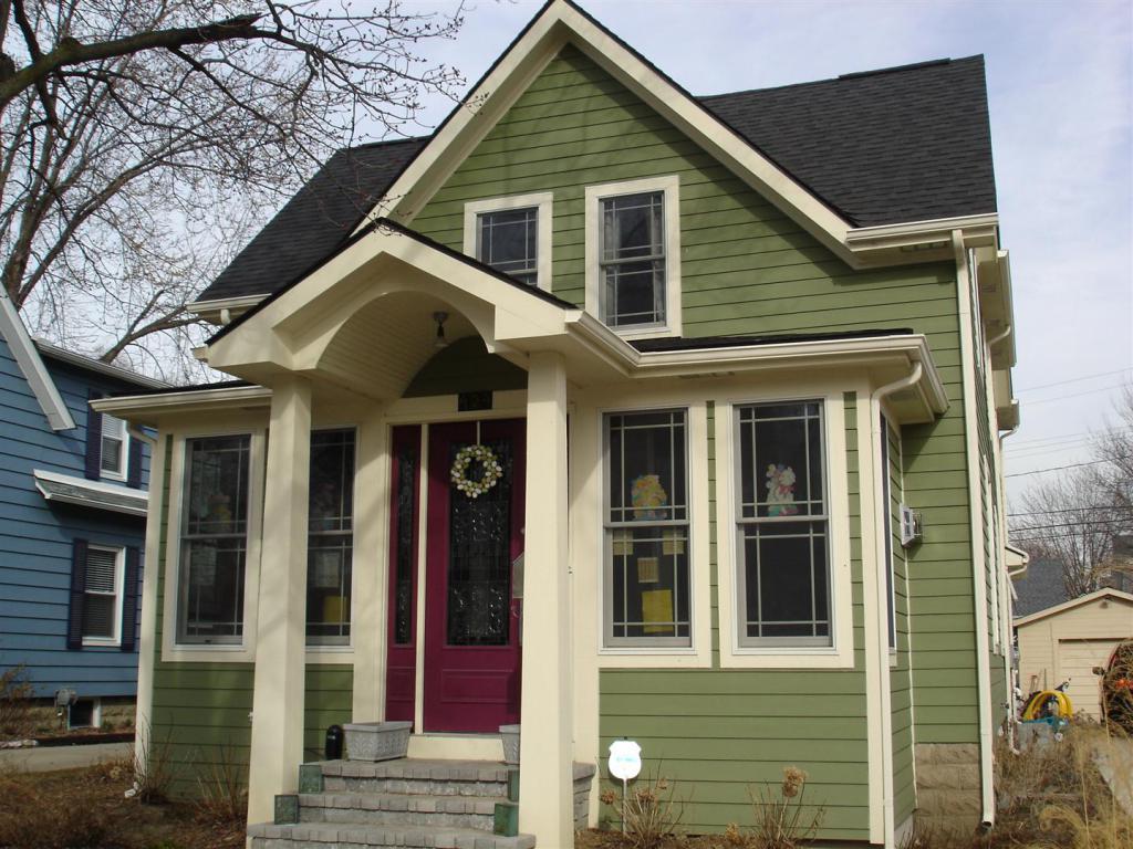 сайдинг сочетание цветов подобрать на доме
