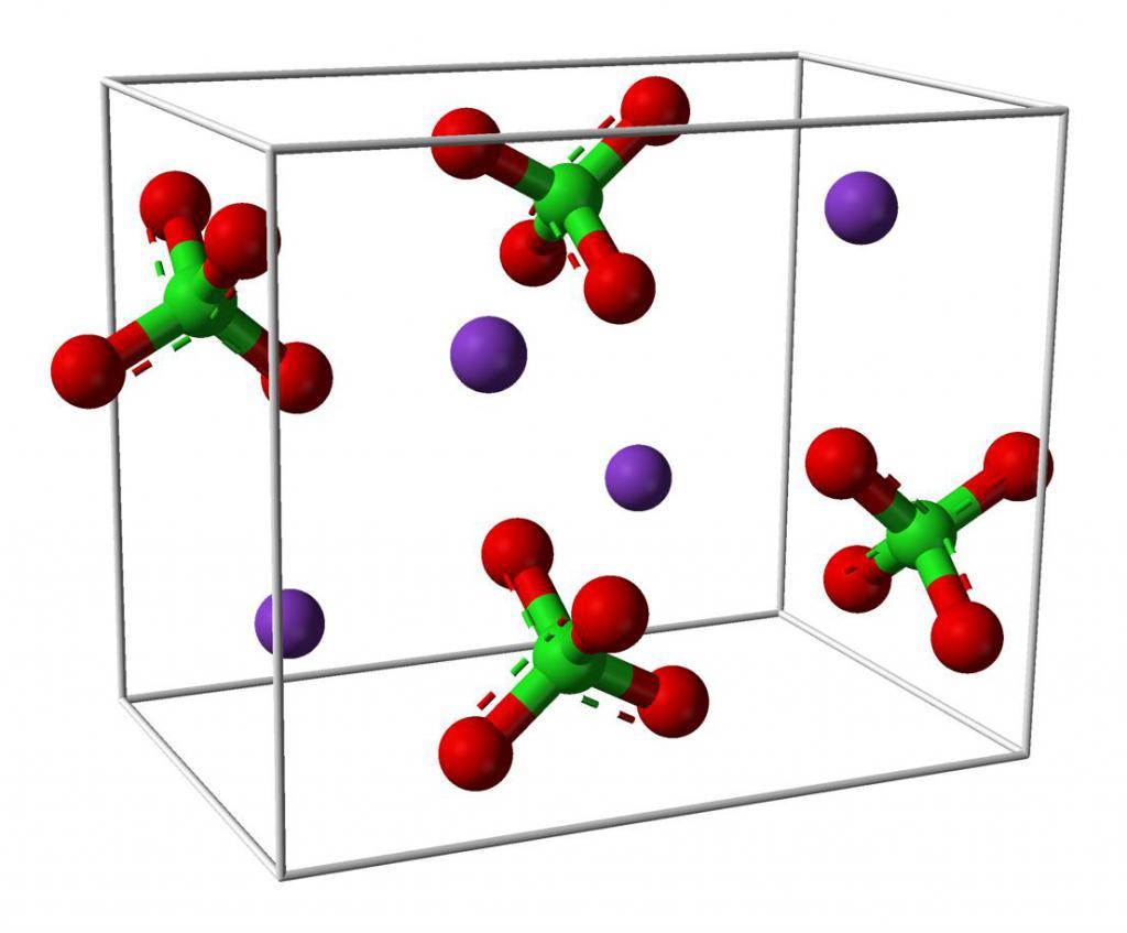 Перхлорат натрия: формула, общие сведения, химические свойства