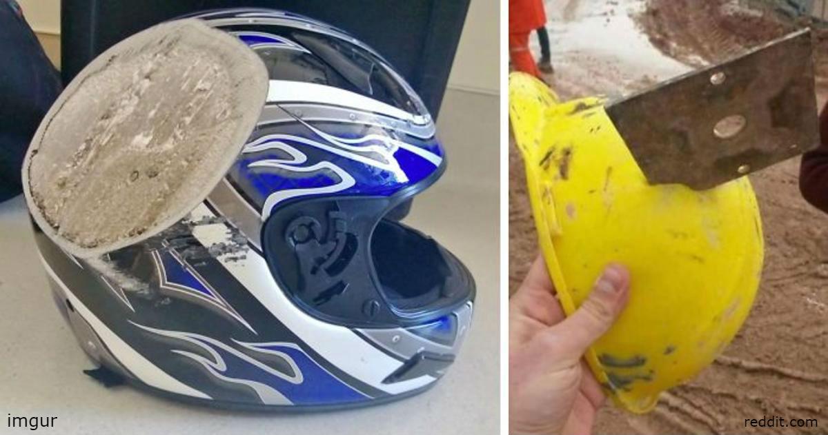 35 причин, почему все всегда должны надевать шлем
