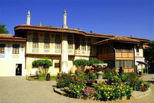 История и описание Бахчисарайского дворца. Ханский дворец в Бахчисарае