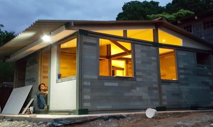 Этот дом построили всего за 5 дней из не совсем обычного материала