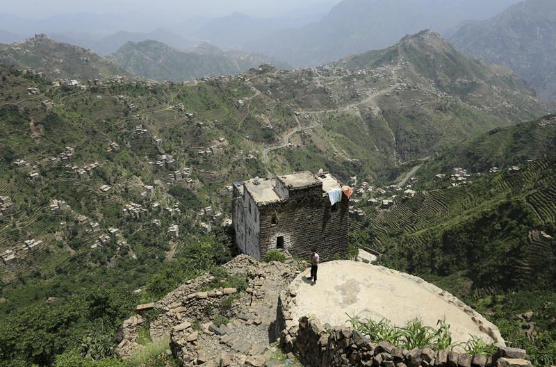 Жизнь взеленых горах Йемена