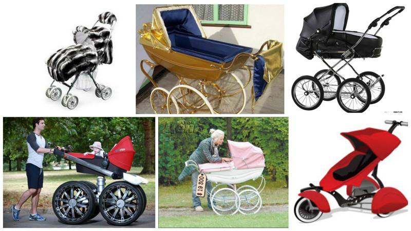 Вынеповерите сколько нынче стоят некоторые детские коляски