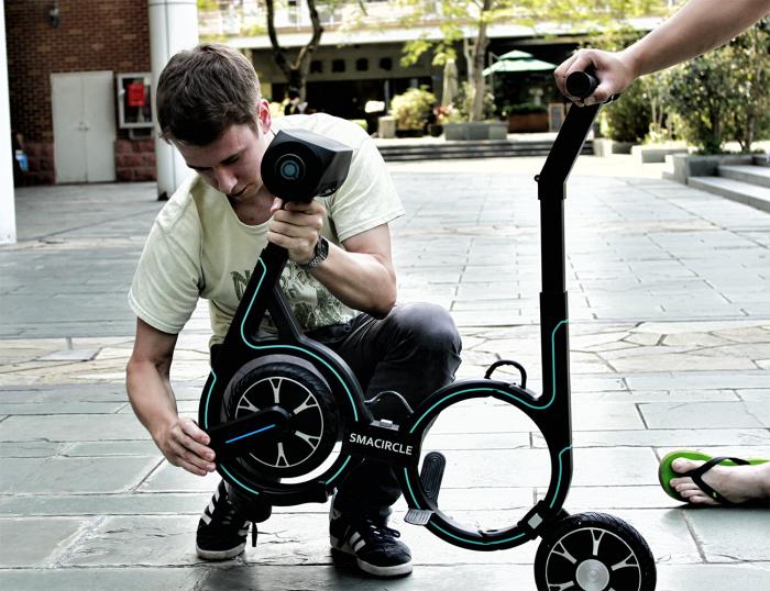 Велосипед, который можно уместить в рюкзак: за него создатели просят 1 доллар, но есть одно «но»