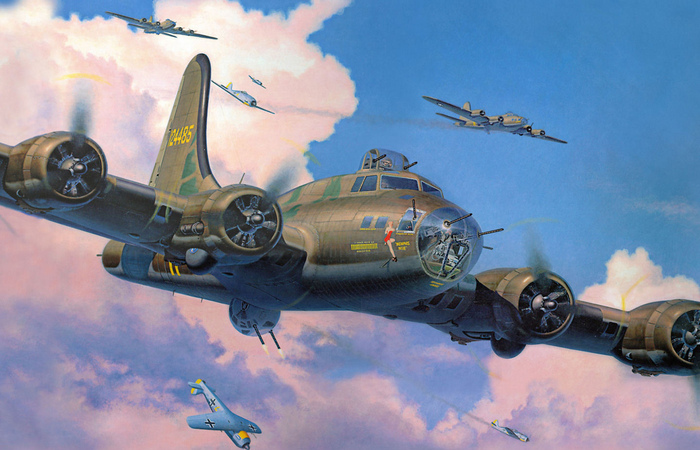 Boeing B-17 Flying Fortress: как летающая крепость оказалась у люфтваффе во время бомбардировки Бреста